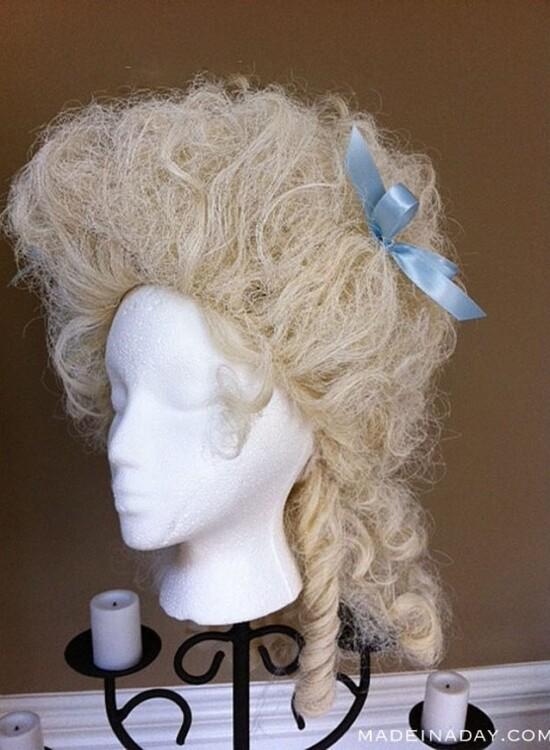 Instant Powdered Wig 4