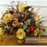 Silk Rose Cascade Bouquet 3