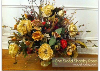 Shabby Rose~ One Sided Arrangement 13