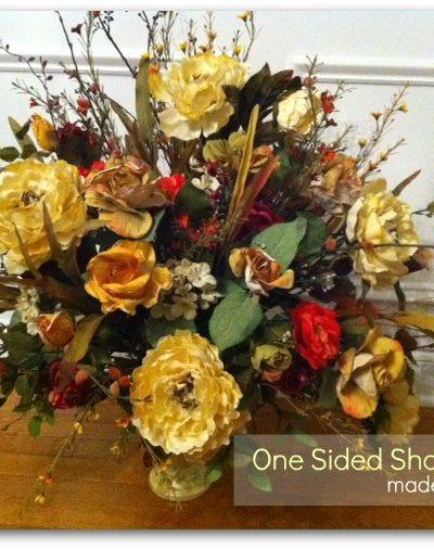 Shabby Rose~ One Sided Arrangement