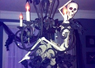 Skeleton Chandelier 12
