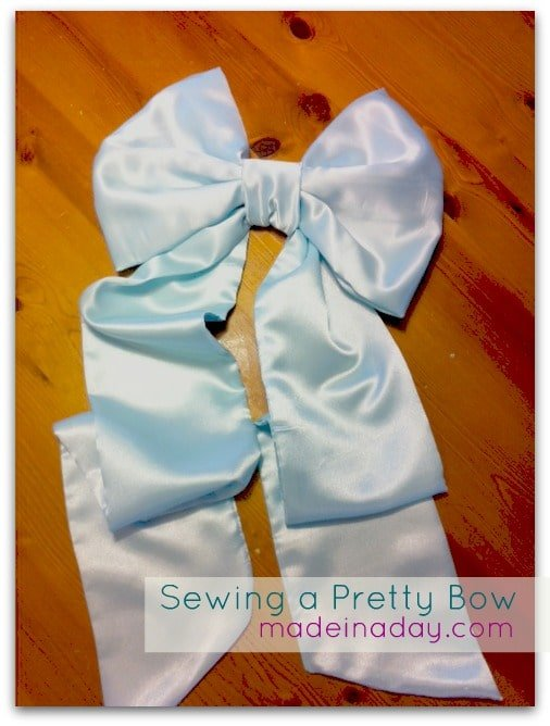 sew a bow
