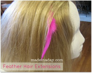 Feather Hair Extension Tutorial
