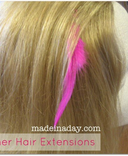 DIY Feather Extensions 12
