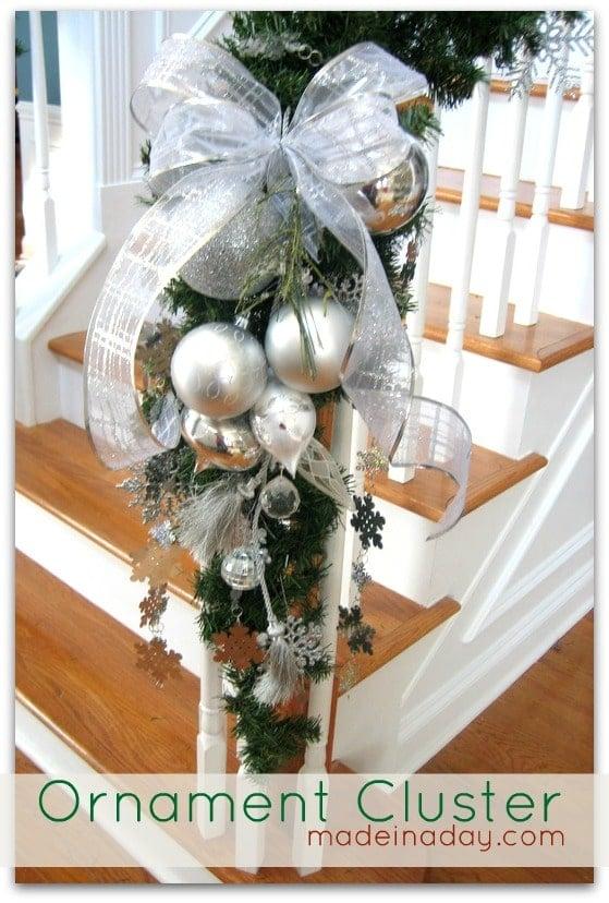 DIY Ornament Arrangement