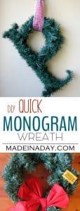 Quick Monogram Wreath 1