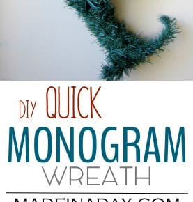 Quick Monogram Wreath 1