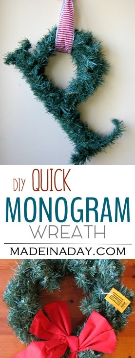 Quick Monogram Wreath 3