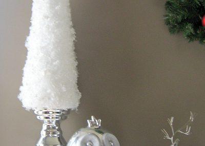 Simple Snow Garland Trees 3