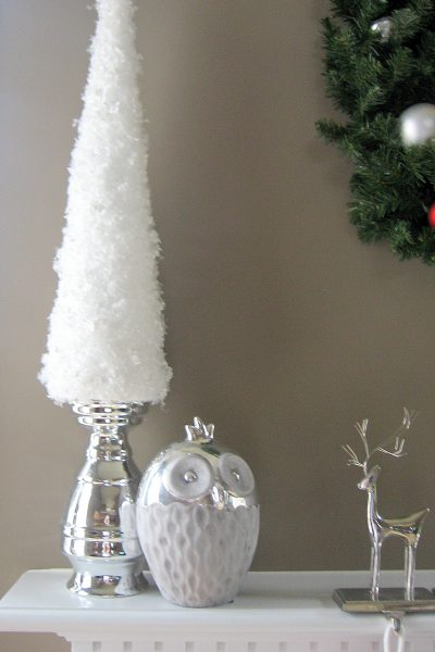 Simple Snow Garland Trees