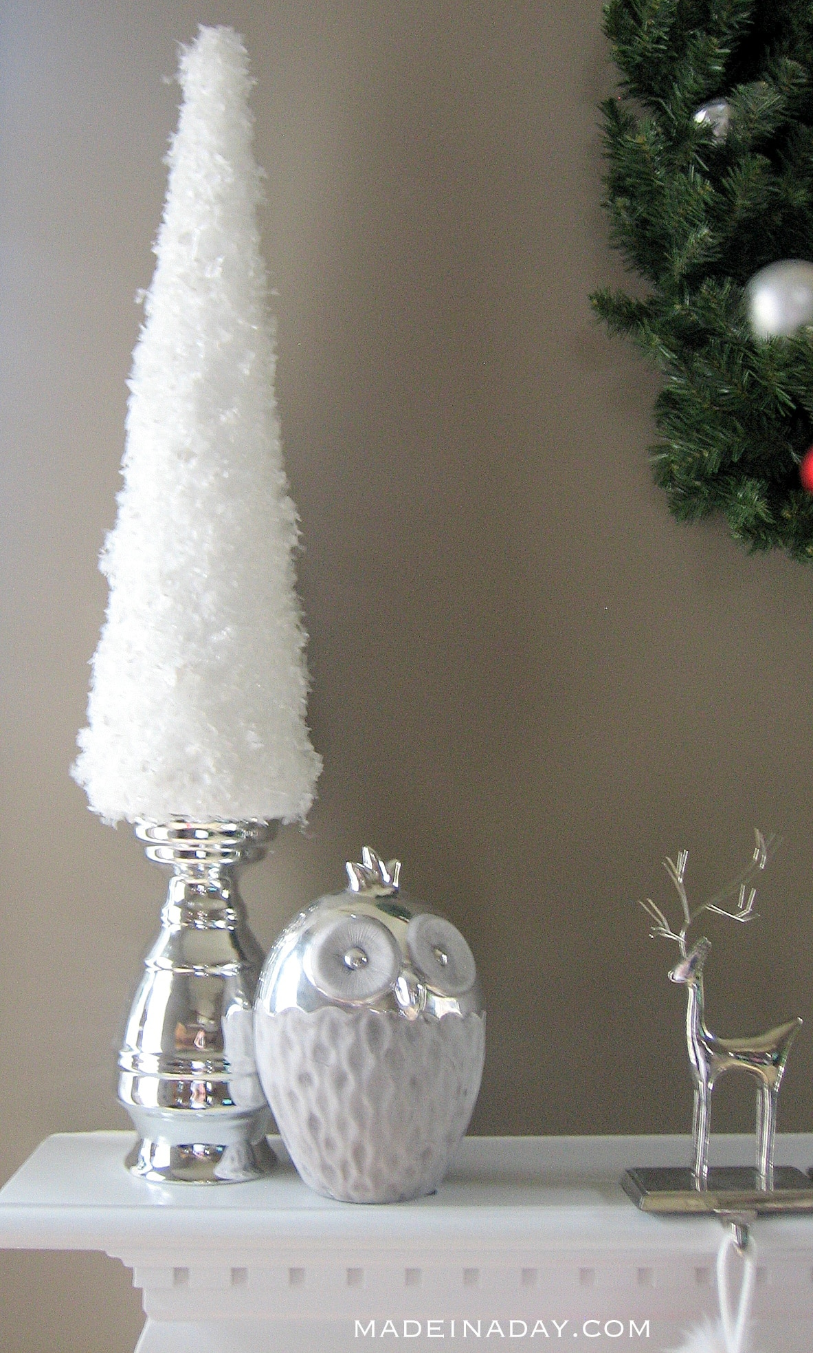 Simple Snow Garland Trees 2