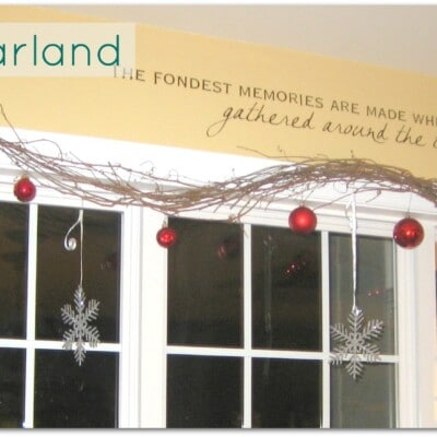 Easy Vine Garland!