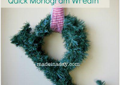 Quick Monogram Wreath 2