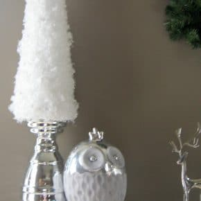 Simple Snow Garland Trees 1