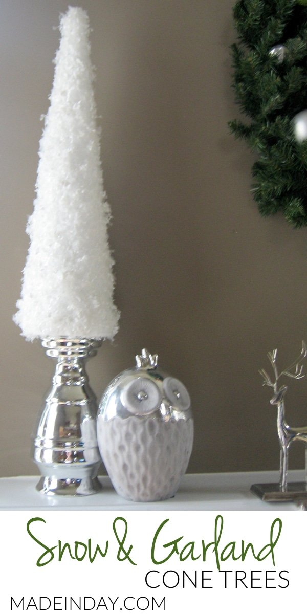 Simple Snow Garland Trees 3