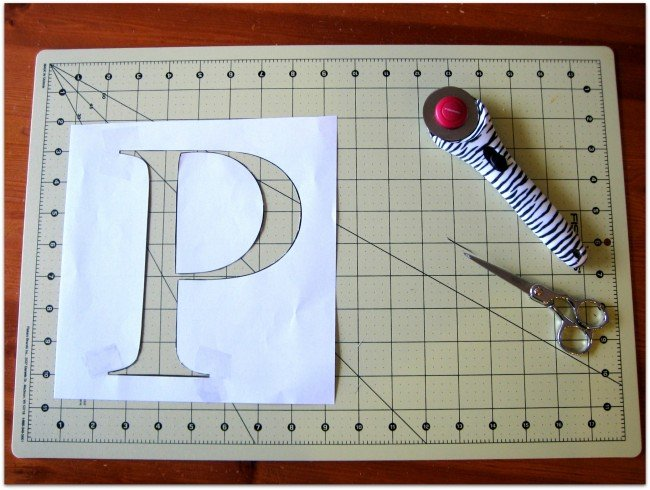 Ink Printer stenciling