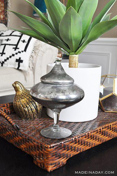 DIY Mercury Glass Home Decor