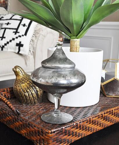 DIY Mercury Glass Home Decor 8