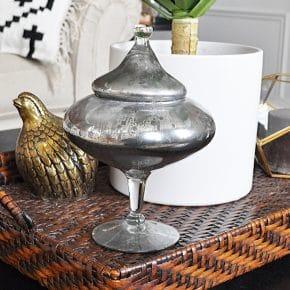 DIY Mercury Glass Home Decor 31
