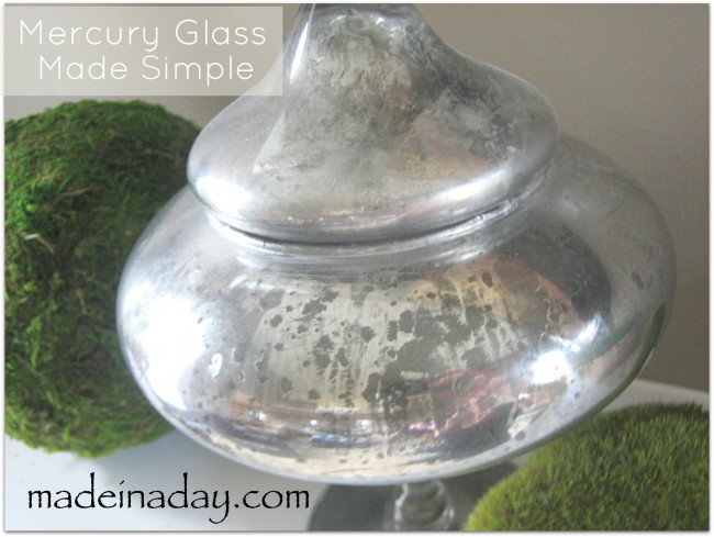 Mercury Glass DIY