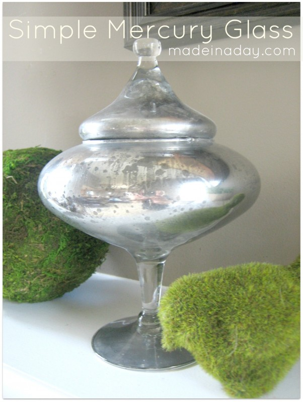 Looking Glass Paint Mercury Glass Tutorial