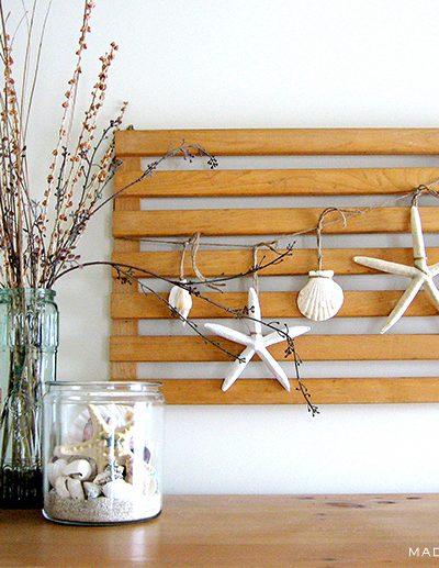 Starfish Garland Sea Vignette