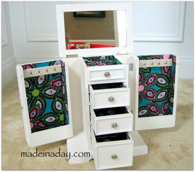 Diy Jewelry Box Part - 38: Decoupage Jewelry Box