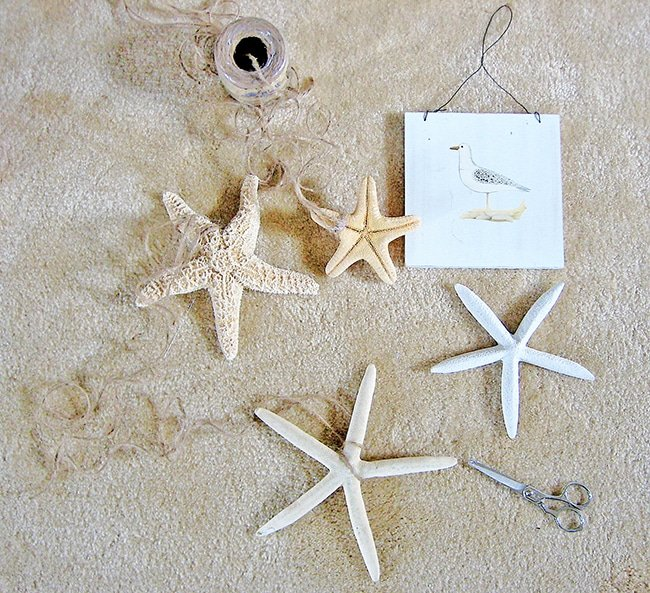 Starfish Garland Sea Vignette 2