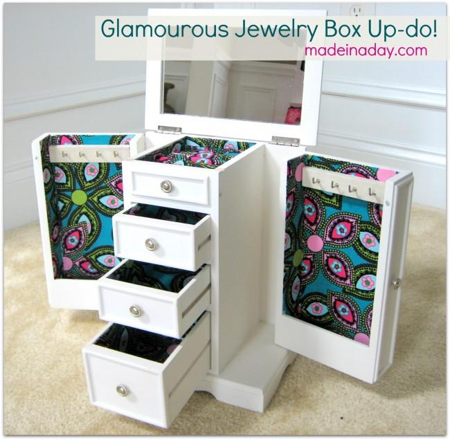 Decopage  jewelry box