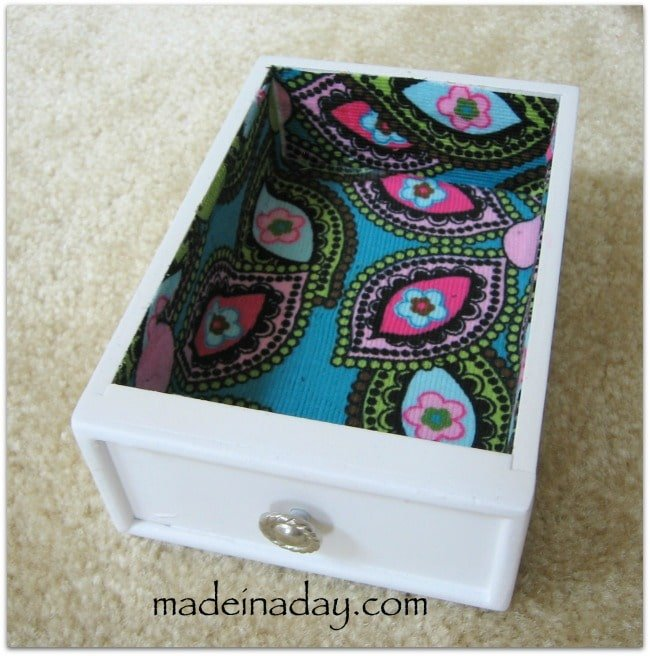 Paisley decoupage jewelry makeover