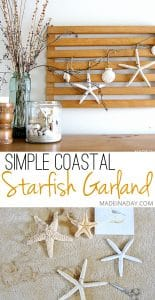 Starfish Garland Sea Vignette 1