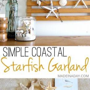 Starfish Garland Sea Vignette 1
