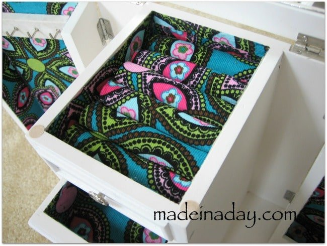 decoupage jewelry box makeover