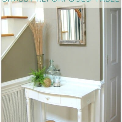 Shabby Repurposed Table