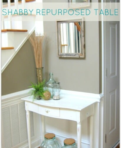 Shabby Repurposed Table 33