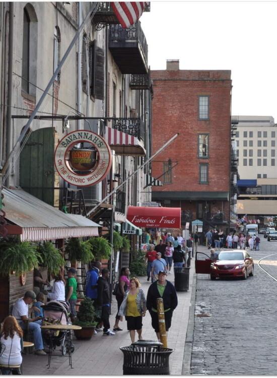 River Street Savannah GA