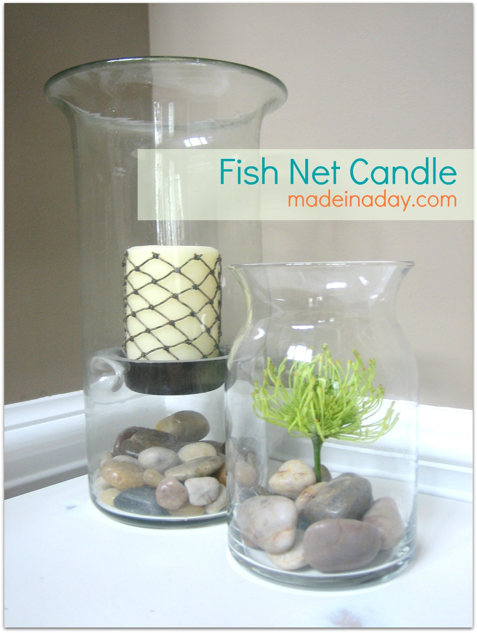 DIY Net Candle Tutorial