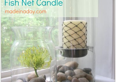 Fishnet Candle 6