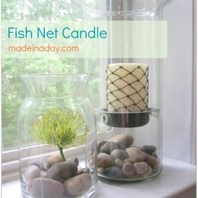 Fishnet Candle