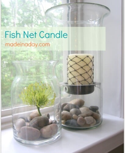 Fishnet Candle 32