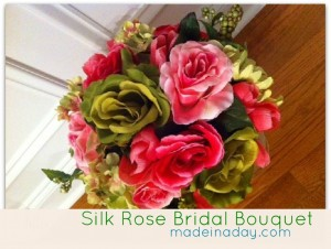 Silk Rose Bouquet