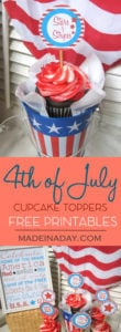 4th of July Patriotic Printables 1