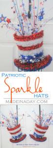Sparkle Hat Explosion Patriotic Decoration 1