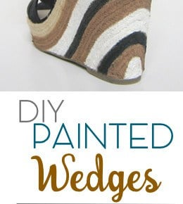Painted Wedge Sandals! 1