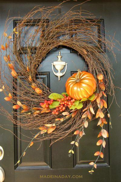 Autumn Wispy Wreath