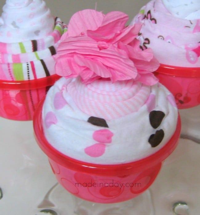 Cupcake Onesie with Headband