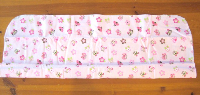 Fold Baby Blanket for cupcake onesie
