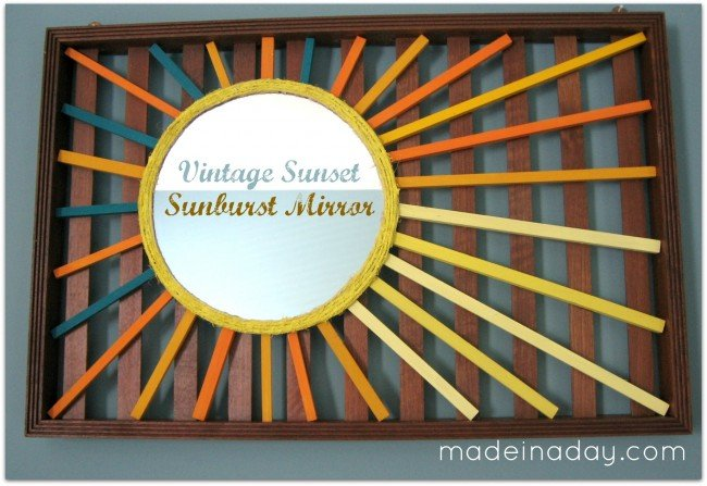 Sunburst Mirror Sign