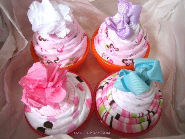 how to make Cupcake onesies