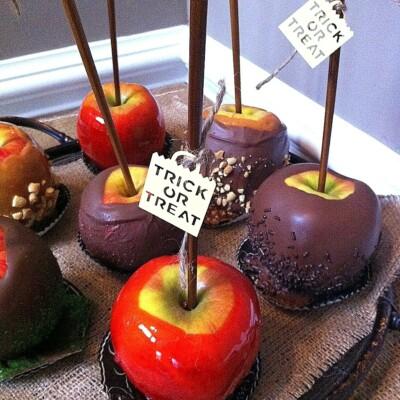 Fall Candy Apple Recipes
